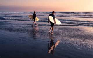 Как выбрать гидрокостюм для сёрфинга
