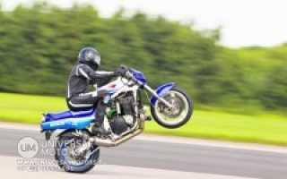 Как научиться делать вилли на мотоцикле