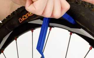 Как поменять шину на велосипеде