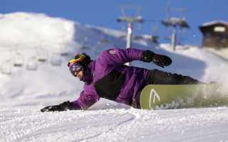 Карвинг как техника катания на сноуборде