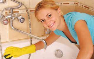 Отмыть акриловую ванну. Акриловые ванны — как ухаживать? Чем мыть акриловую ванну в домашних условиях? Средства, предназначенные для чистки акриловых ванн