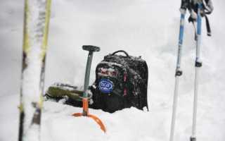 Попадание в лавину – тренировка спасработ со Snowpro