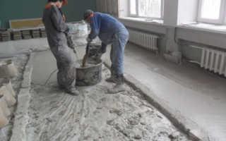 Из чего делается бетонная стяжка. Бетонный пол стяжка своими руками. Готовые сухие смеси для стяжки