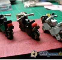 Как из зажигалки сделать мотоцикл
